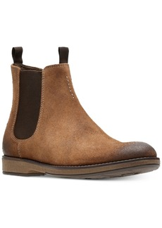 Clarks Men's Hinman Suede Chelsea Boots Men's Shoes