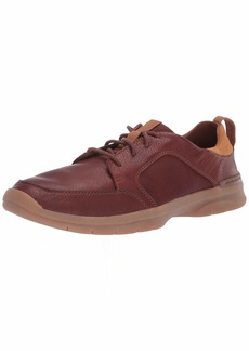 Clarks Men's Orlin Vibe Sneaker tan Leather 0 M US
