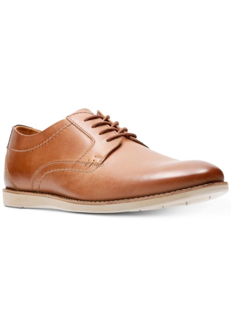 Clarks Men's Raharto Leather Plain-Toe Oxfords Men's Shoes
