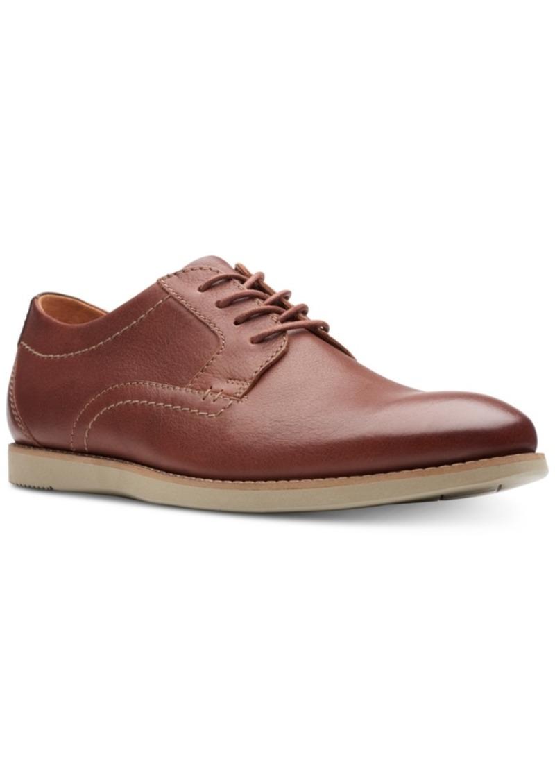 Clarks Men's Raharto Plain-Toe Oxfords Men's Shoes