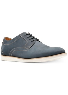 Clarks Men's Raharto Suede Plain-Toe Oxfords Men's Shoes
