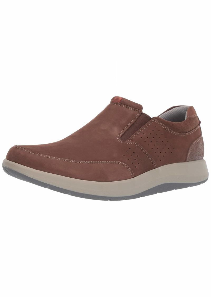 CLARKS Men's Shoda Free Waterproof Slip-on Sneaker  0 M US