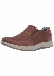 Clarks Men's Shoda Free Waterproof Slip-on Sneaker   M US