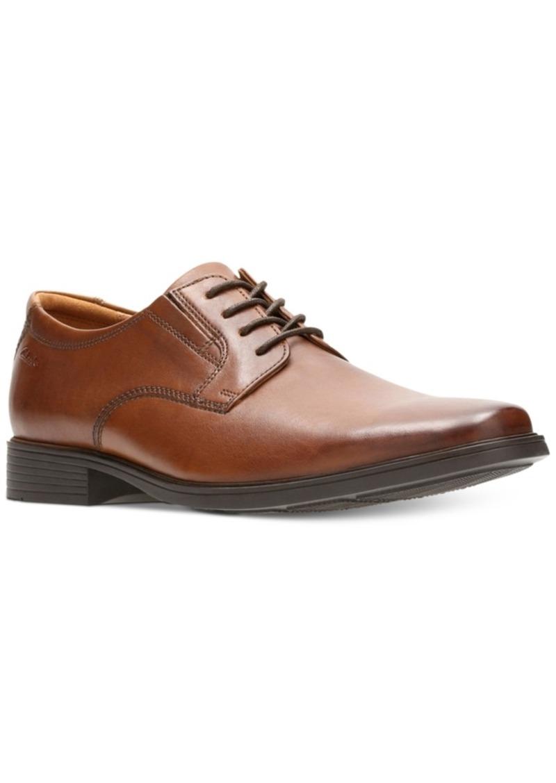 Clarks Men's Tilden Plain-Toe Oxfords Men's Shoes