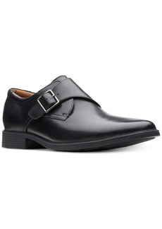 Clarks Men's Tilden Style Monk Strap Loafers Men's Shoes