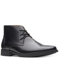 Clarks Men's Tilden Top Waterproof Dress Chukka Boots Men's Shoes