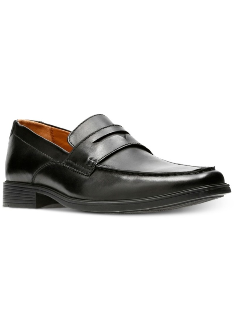 Clarks Men's Tilden Way Leather Penny Loafers Men's Shoes