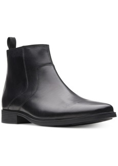 Clarks Men's Tilden Zip Waterproof Leather Boots, Created for Macy's Men's Shoes