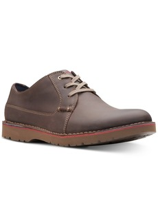 Clarks Men's Vargo Plain Leather Oxfords, Created for Macy's Men's Shoes