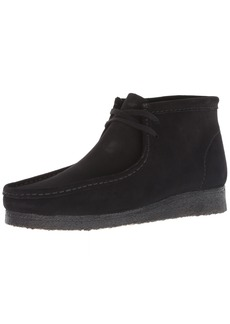 Clarks Men's Wallabee Boot Boot black suede 00 M US