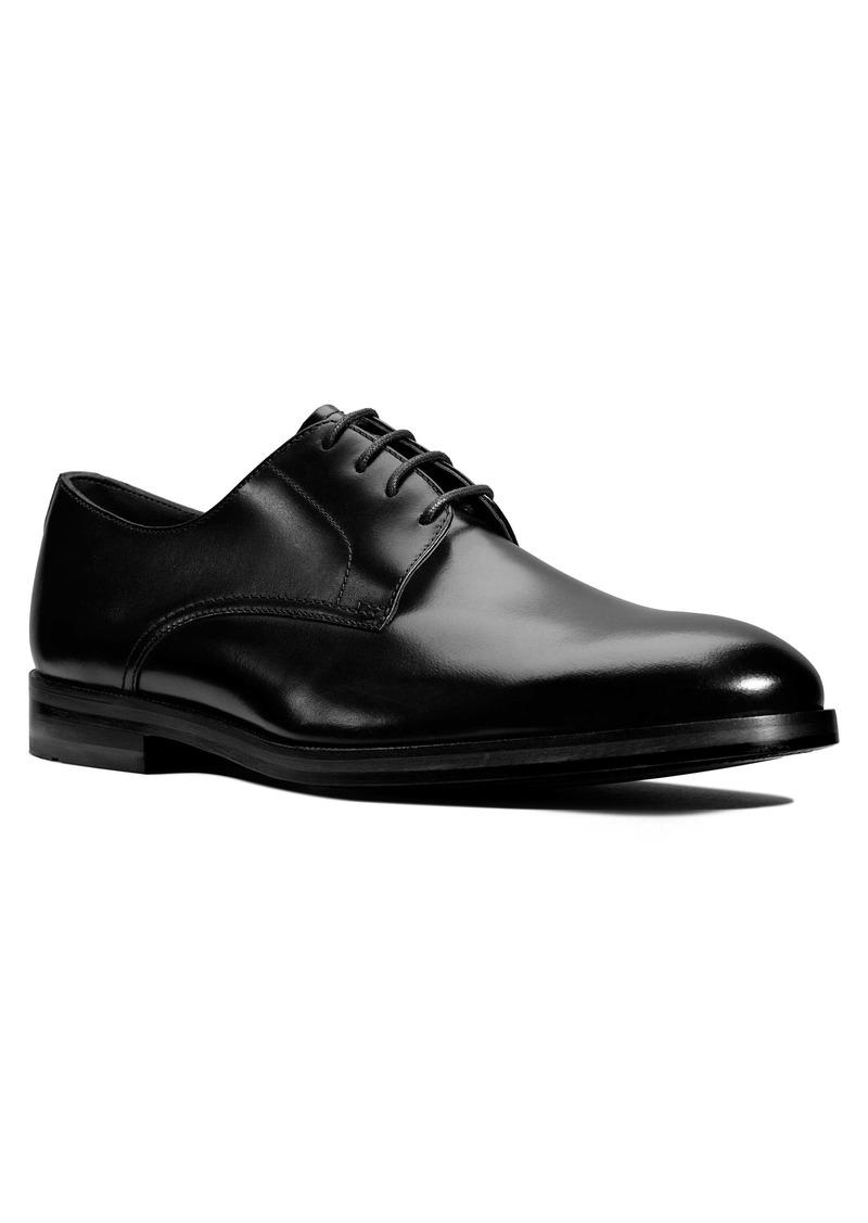 Clarks® Oliver Limit Plain Toe Derby (Men)