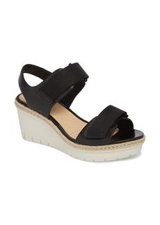 Clarks® Palm Shine Wedge Sandal (Women)