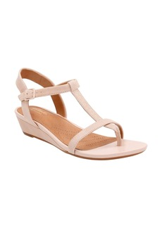 Clarks® Parram Blanc Sandal (Women)