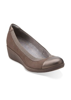 Clarks® 'Petula Sadie' Cap Toe Wedge (Women)