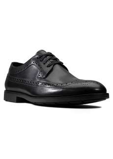 Clarks® Ronnie Limit Wingtip Derby (Men)