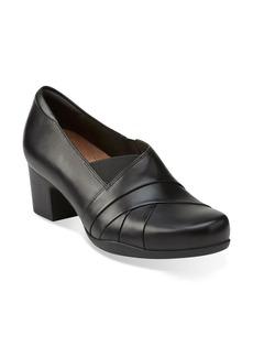 Clarks® 'Rosalyn Adele' Block Heel Pump (Women)
