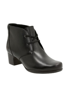 Clarks® 'Rosalyn Lark' Waterproof Boot (Women)