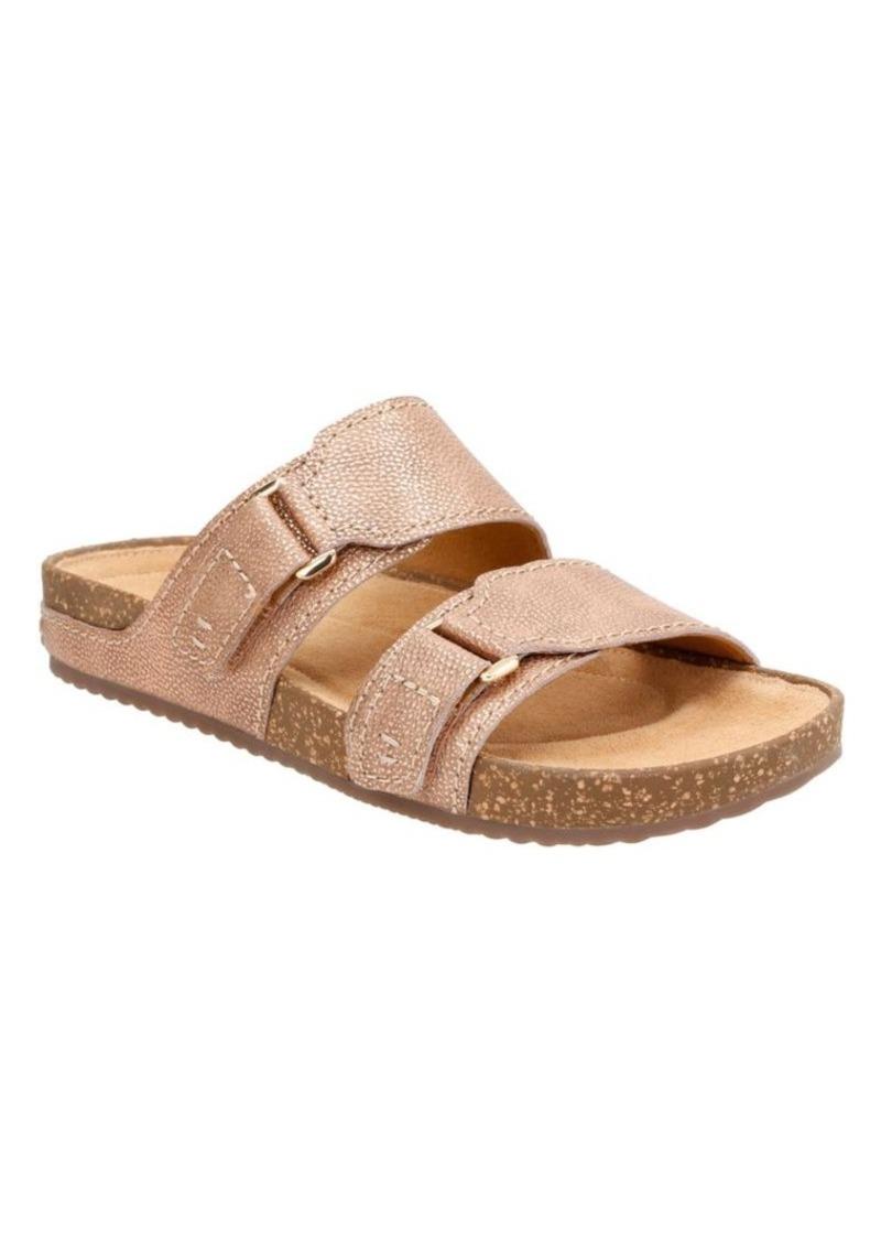 a02698610c4 Clarks Clarks Rosilla Tilton Double Strap Leather Sandals Now  33.75