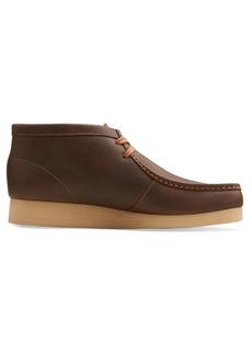 Clarks Stinson Leather Chukka Boots