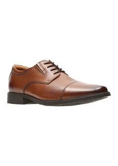 Clarks Tilden Cap Leather Oxfords