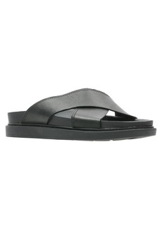 Clarks® Trace Cross Sandal (Men)