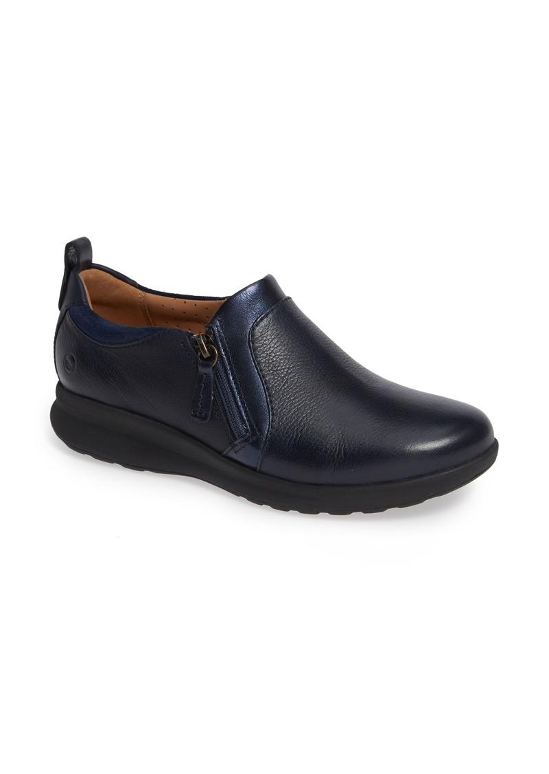 Clarks® Un Adorn Zip Sneaker (Women)