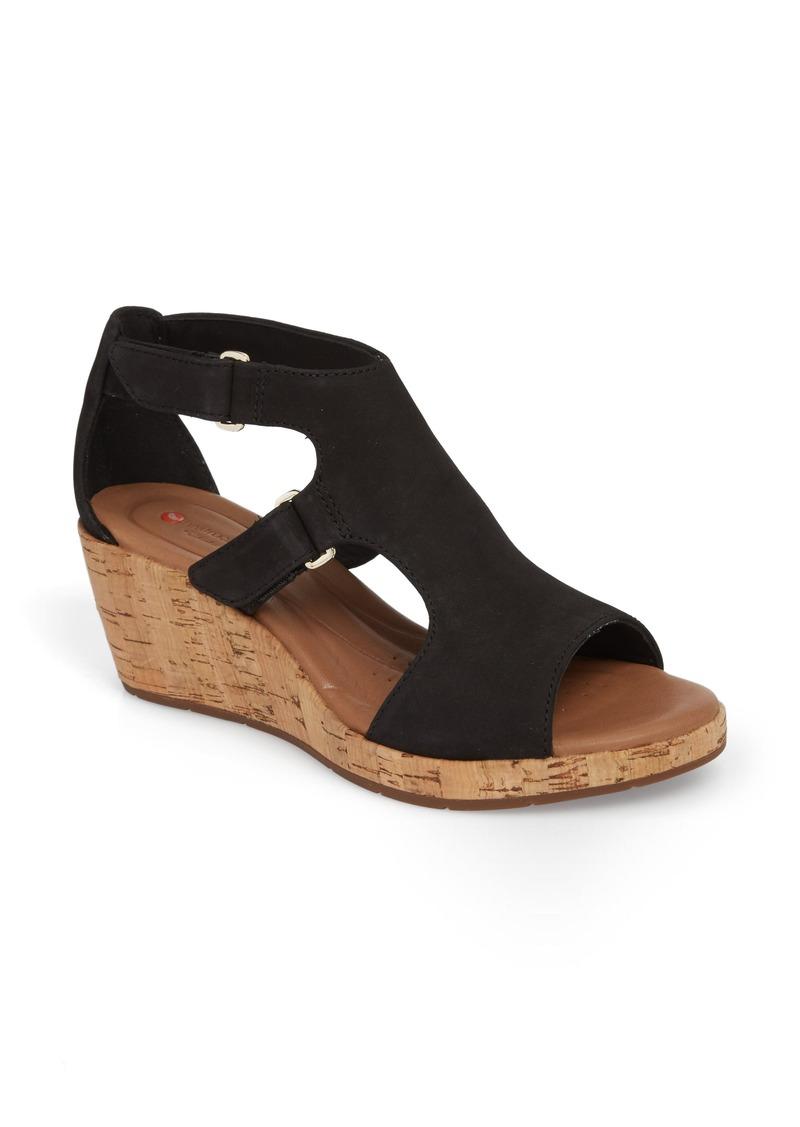 f7bb71eb024 Clarks Clarks® Un Plaza Wedge Sandal (Women)