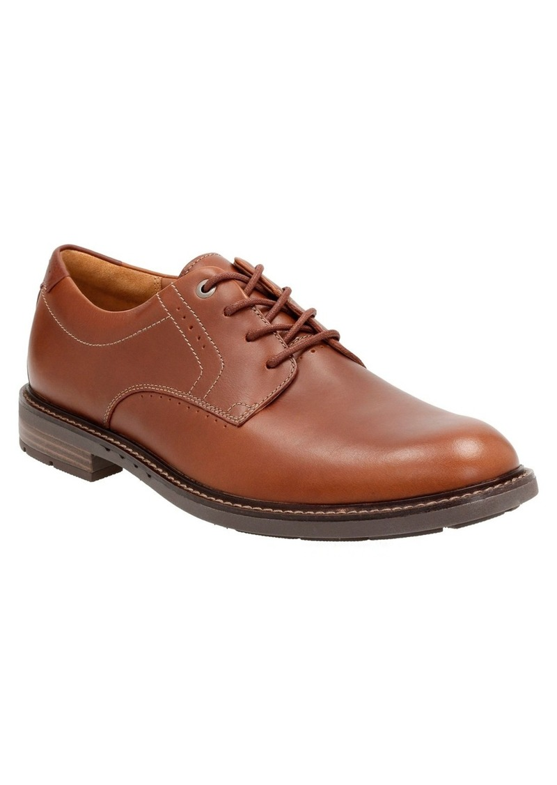 Clarks® 'Un.Elott' Plain Toe Derby (Men)