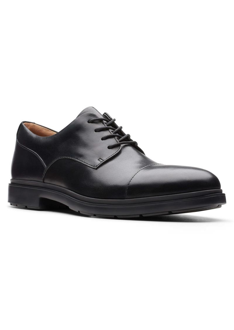 Clarks® Un.Tailor Cap Toe Derby (Men)