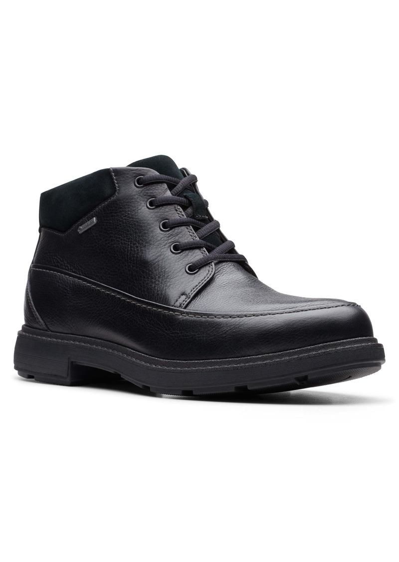 Clarks® Un.Tread Waterproof Moc Toe Boot (Men)