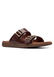 Clarks® Vine Cedar Slide Sandal (Men)