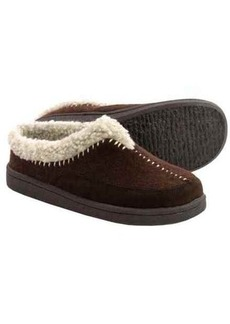 Clarks Whipstitch Clog Slippers - Fleece Lined (For Women)