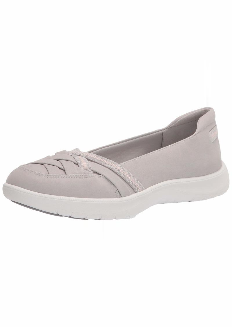 Clarks womens Adella Poppy Sneaker   US