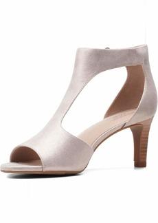 Clarks Women's Alice Flame Heeled Sandal   M