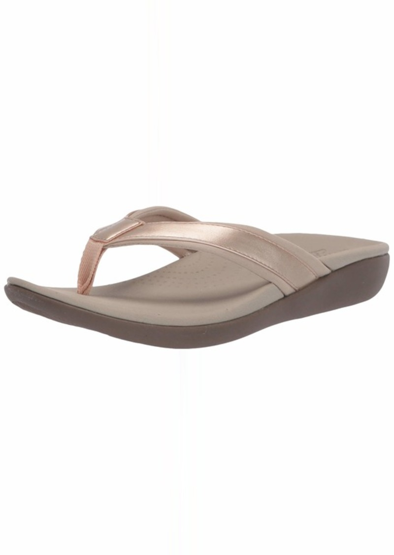Clarks Women's Brio Sol Flip-Flop  00 M US