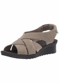 Clarks Women's Caddell JENA Wedge Sandal  0 M US