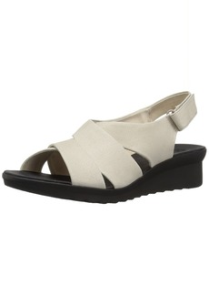 Clarks Women's Caddell Petal Sandal   Medium US