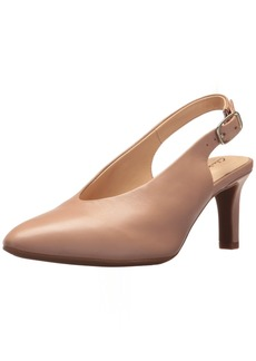 CLARKS Women's Calla Violet Pump   Medium US
