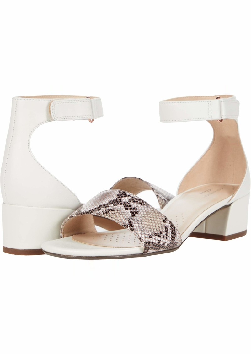 Clarks Women's Caroleigh Anya Heeled Sandal