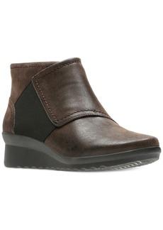 Clarks Women's Cloudsteppers Caddell Rush Booties Women's Shoes