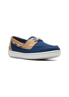 Clarks Women's Cloudsteppers Step Glow Lite Boat Shoes Women's Shoes