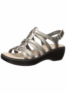 Clarks Women's Delana Curve Sandal  0 M US