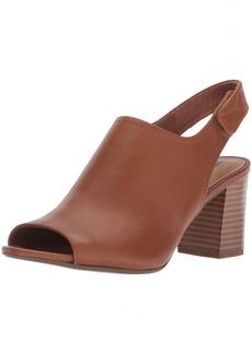 CLARKS Women's Deva Jayleen Pump tan Leather  Medium US
