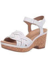 Clarks Women's Giselle Coast Wedge Sandal  M