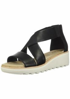 Clarks Women's Jillian Rise Wedge Sandal  75 M US