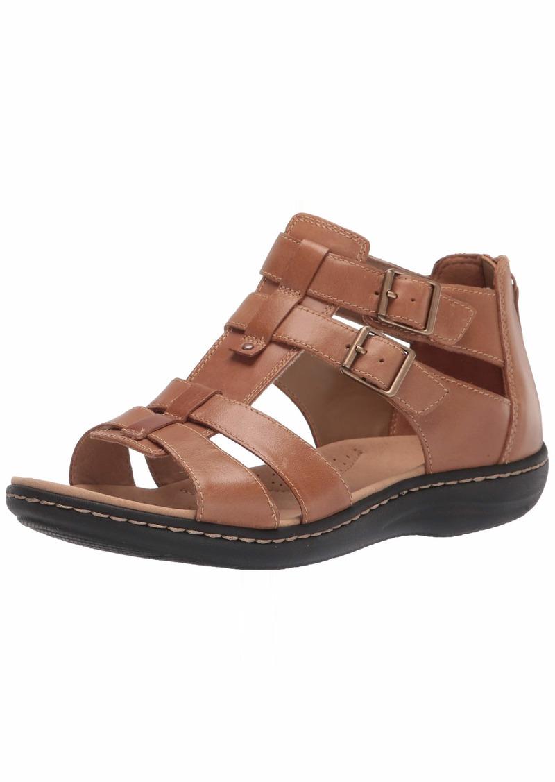 Clarks womens Laurieann Remi Flat Sandal   US