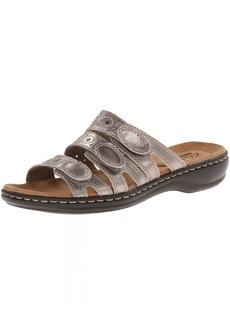 CLARKS Women's Leisa Cacti Slide Sandal   M US