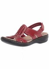Clarks Women's Leisa Skip Flat Sandal  10N