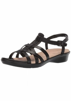 CLARKS Women's Loomis Katey Sandal  080 W US