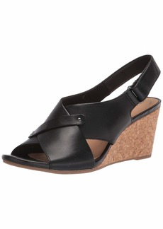 Clarks Women's Margee Eve Wedge Sandal
